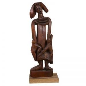 Arlechin-sculptura-liviu-brezeanu