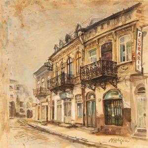 Case pe Strada Batistei-grafica-mirela-hagiu