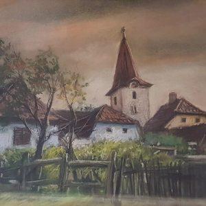 Casa in Transilvania-grafica-mirela-hagiu