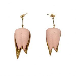 Lotus earrings-jewelry-raluca-buzura