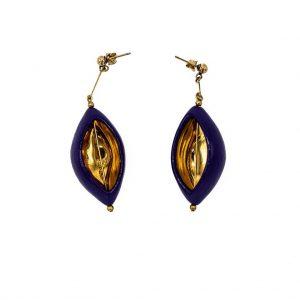 Olive earrings-jewelry-raluca-buzura