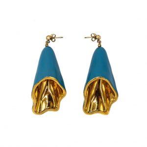 Long wavy earrings-jewelry-raluca-buzura