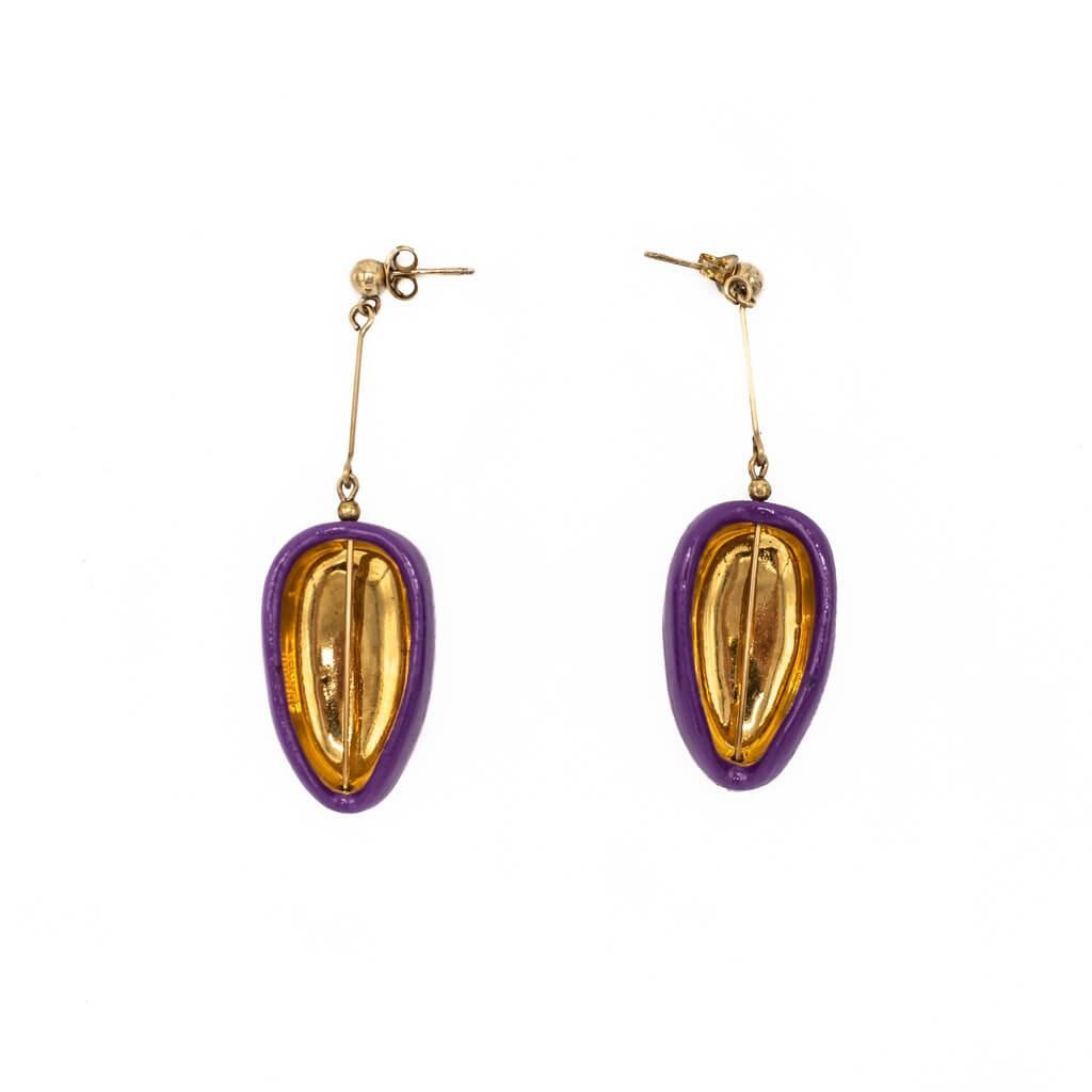 Short cut earrings-jewelry-raluca-buzura