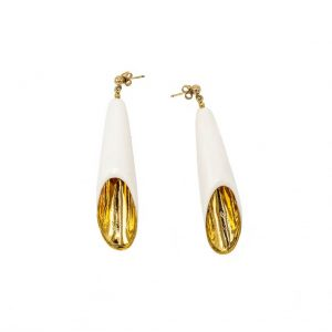 Long Cup Earrings-jewelry-raluca-buzura