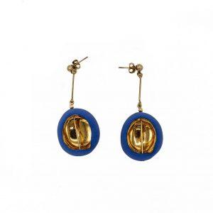 Spherical earrings-jewelry-raluca-buzura