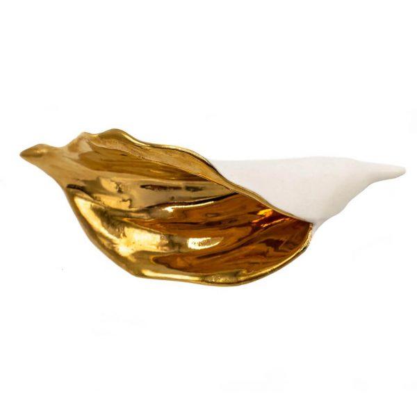 Lily white brooch-jewelry-raluca-buzura