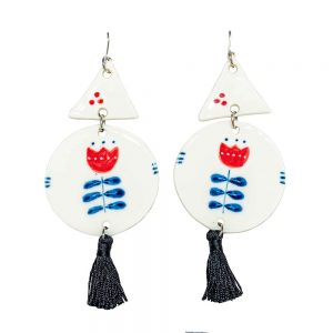 Large earrings V-jewelry-irina-constantin
