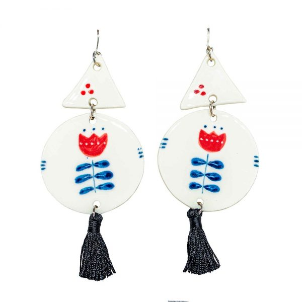 Large earrings V-jewelry-irina-constantin