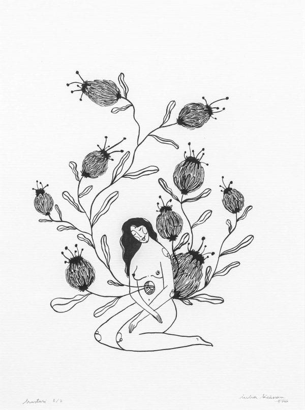 Burdocks III-illustration-and-caricature-