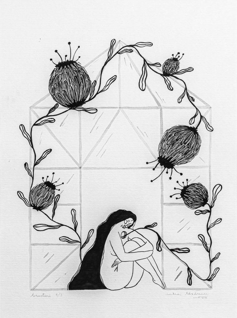 Burdocks I-illustration-and-caricature-