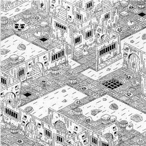 Dungeon XII-graphic-design-catalin-gospodin