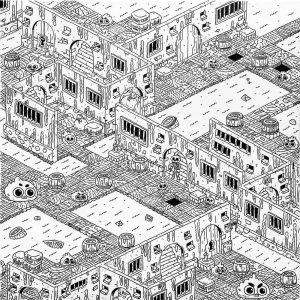 Dungeon XIII-graphic-design-catalin-gospodin