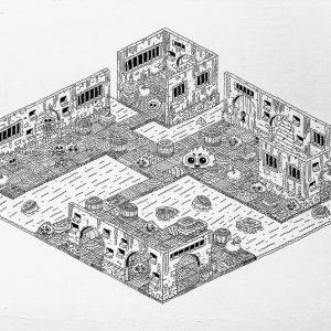 Dungeon I-graphic-design-catalin-gospodin