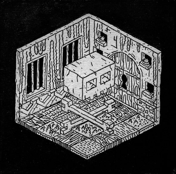 Dungeon III-graphic-design-catalin-gospodin