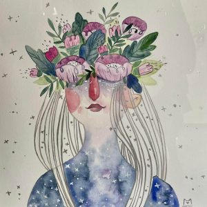 Blooming-illustration-and-caricature-