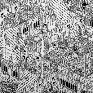 Dungeon X-graphic-design-catalin-gospodin