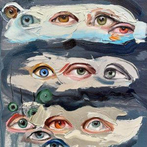 All eyes on you II-painting-arina-bican