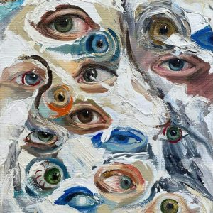 All eyes on you IV-painting-arina-bican