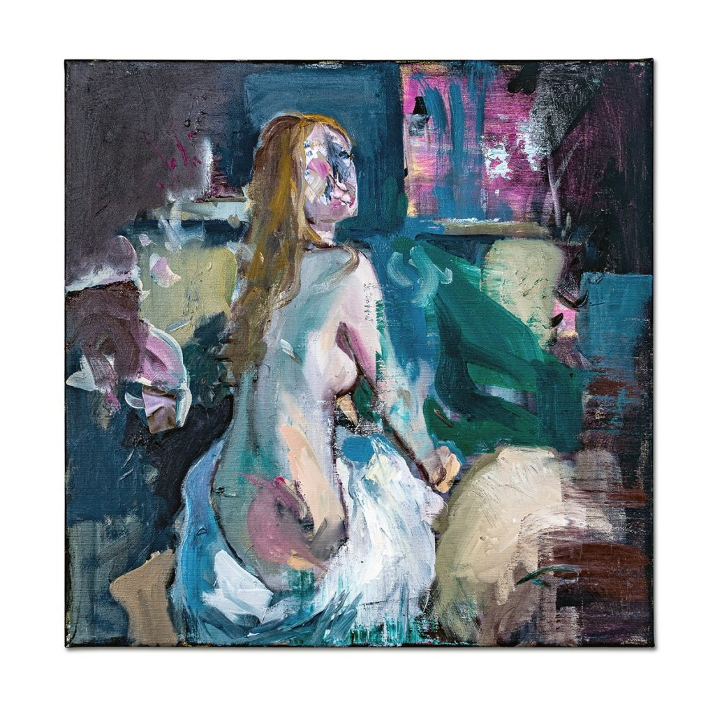 Untitled I-painting-liviu-mihai