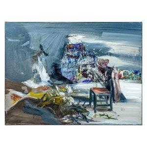 The chair-painting-liviu-mihai