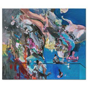 Summer landscape-painting-liviu-mihai