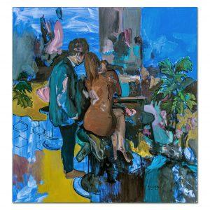Flirting-painting-liviu-mihai