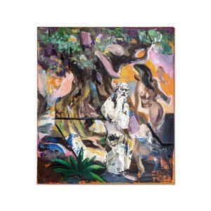 Temptation of Socrates-painting-liviu-mihai
