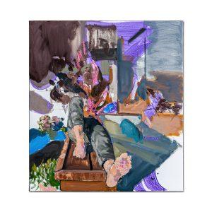 Dreaming boy-painting-liviu-mihai