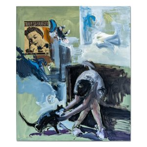Women with cat-painting-liviu-mihai