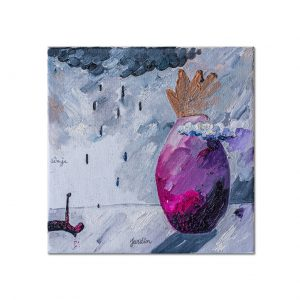 Seven hemispheres IV-painting-ana-stefania-andronic