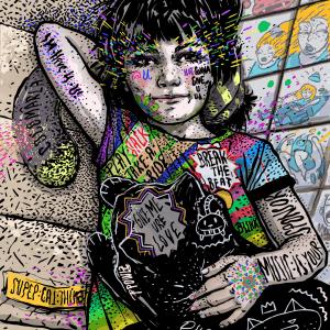 Break the beat I-illustration-and-caricature-ana-stefania-andronic