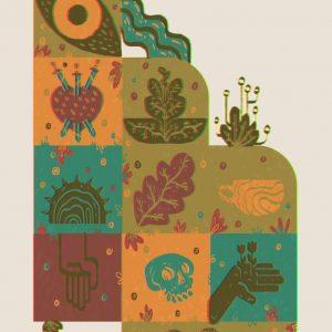 Tarot coasters-illustration-and-caricature-catalin-gospodin